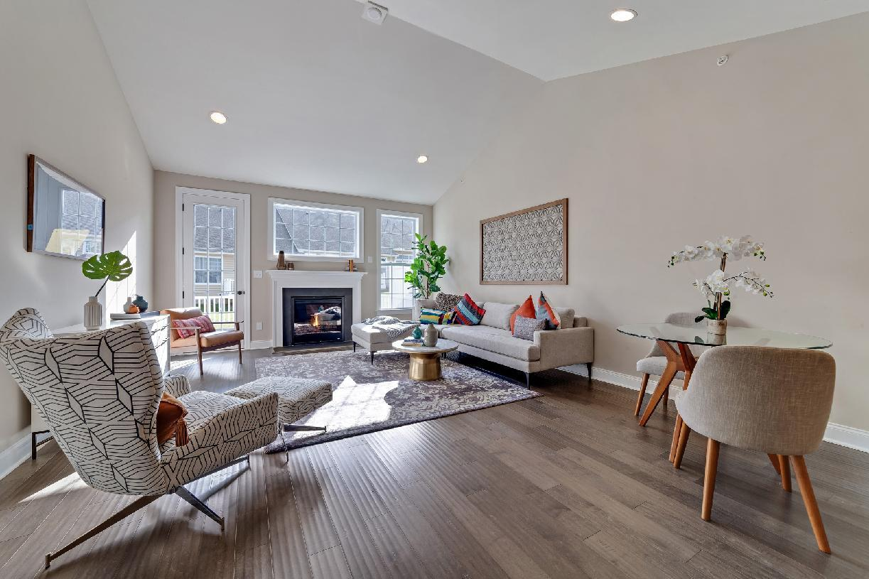 Living Area featured in the Hengrave By Toll Brothers in Philadelphia, PA