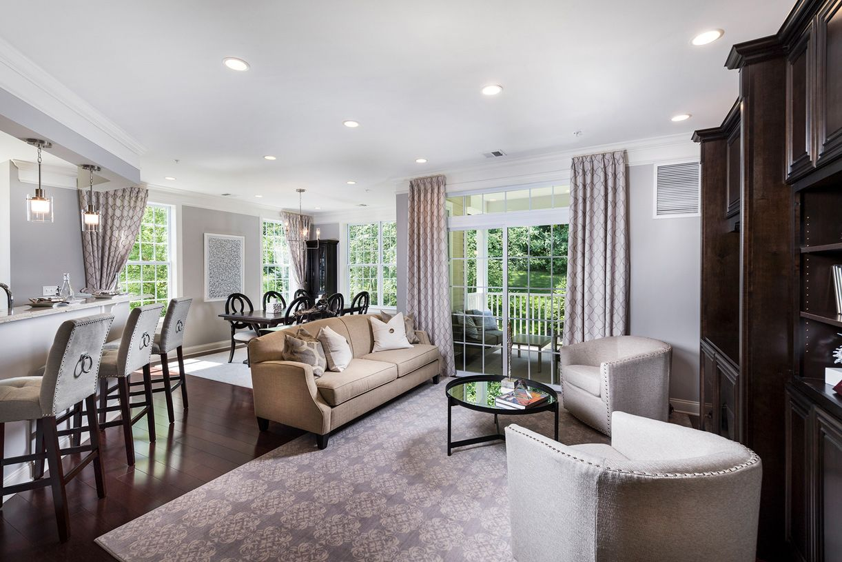 Living Area featured in the Bannerman By Toll Brothers in Dutchess County, NY