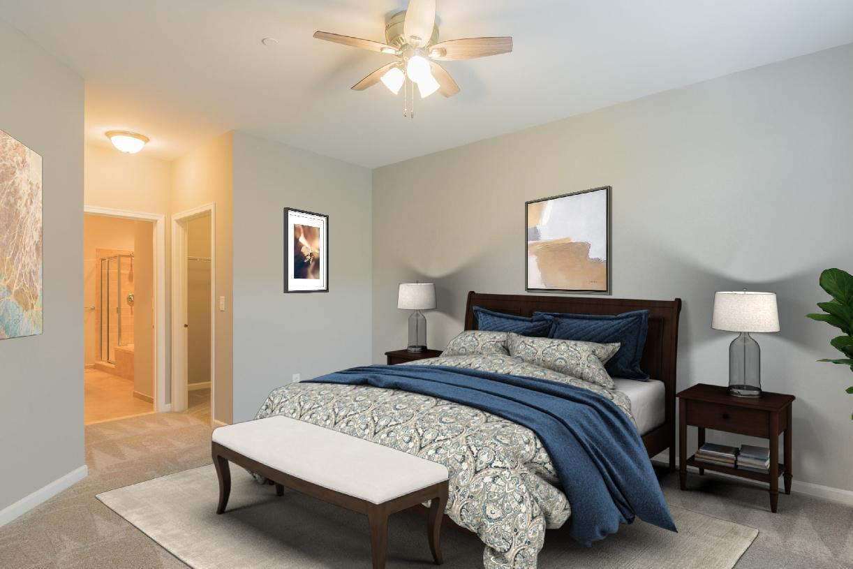Bedroom featured in the Freeland By Toll Brothers in Philadelphia, PA