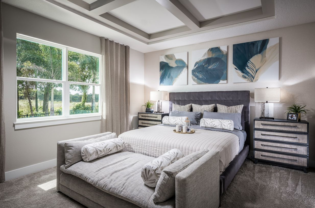 Bedroom featured in the Wilmot By Toll Brothers in Orlando, FL