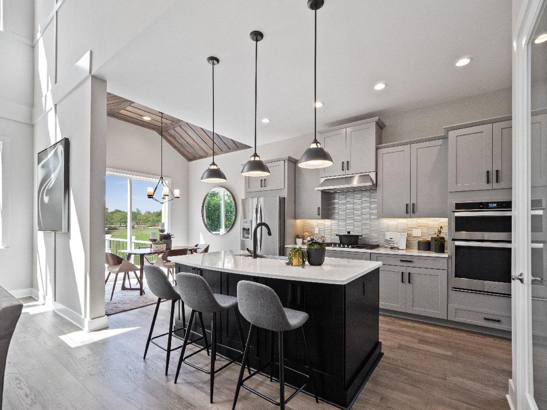 Kitchen featured in the Waltham By Toll Brothers in Detroit, MI