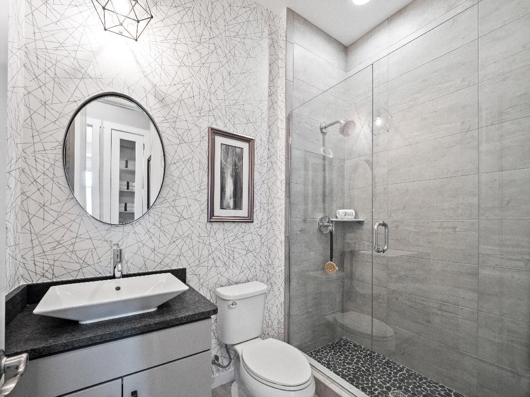 Bathroom featured in the Waltham By Toll Brothers in Detroit, MI