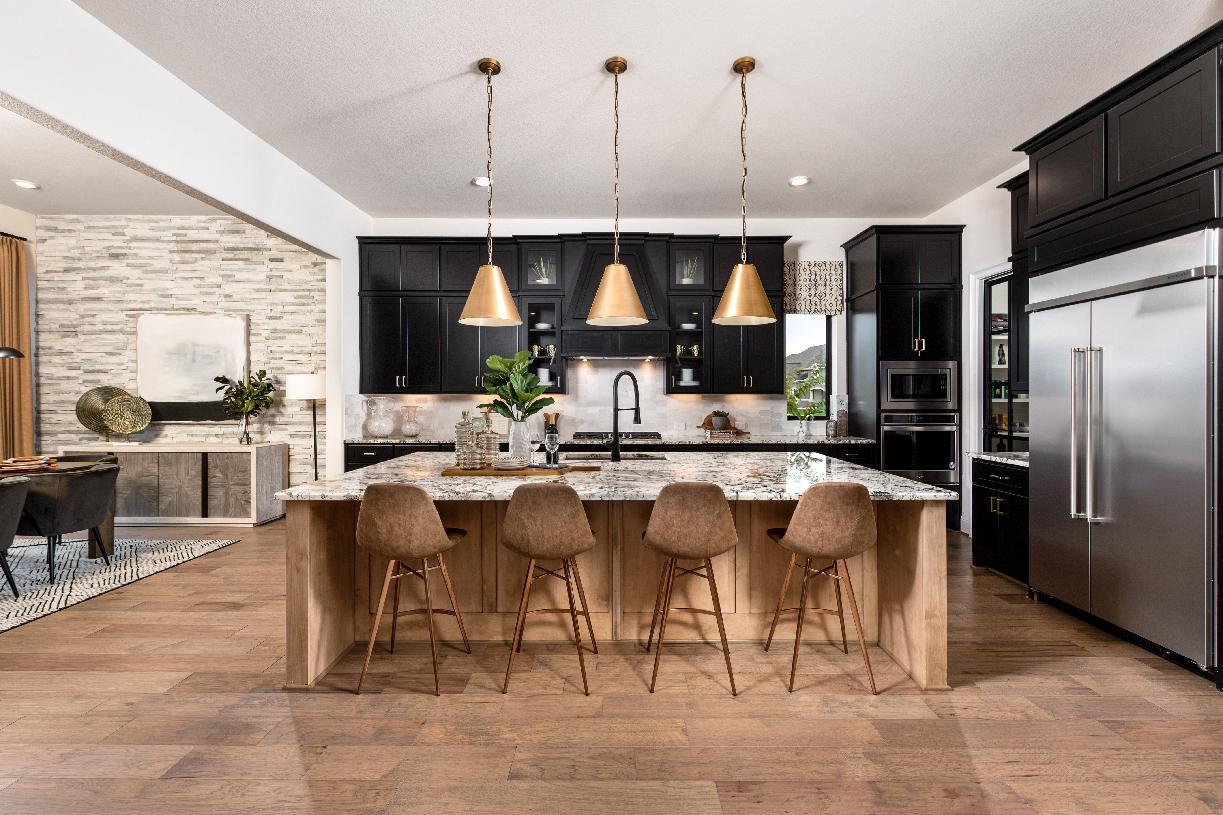 Kitchen featured in the Valen By Toll Brothers in Houston, TX