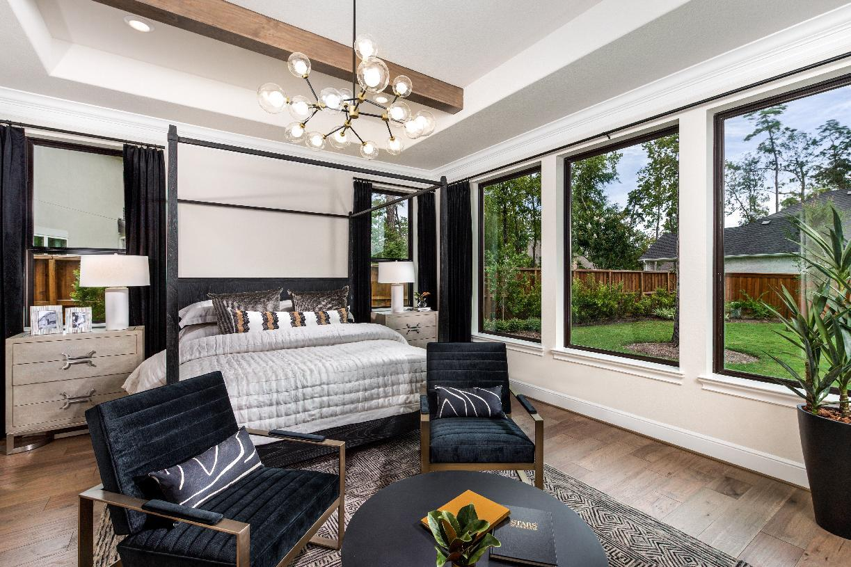 Bedroom featured in the Valen By Toll Brothers in Houston, TX