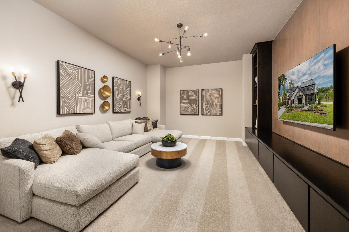 Living Area featured in the Valen By Toll Brothers in Houston, TX
