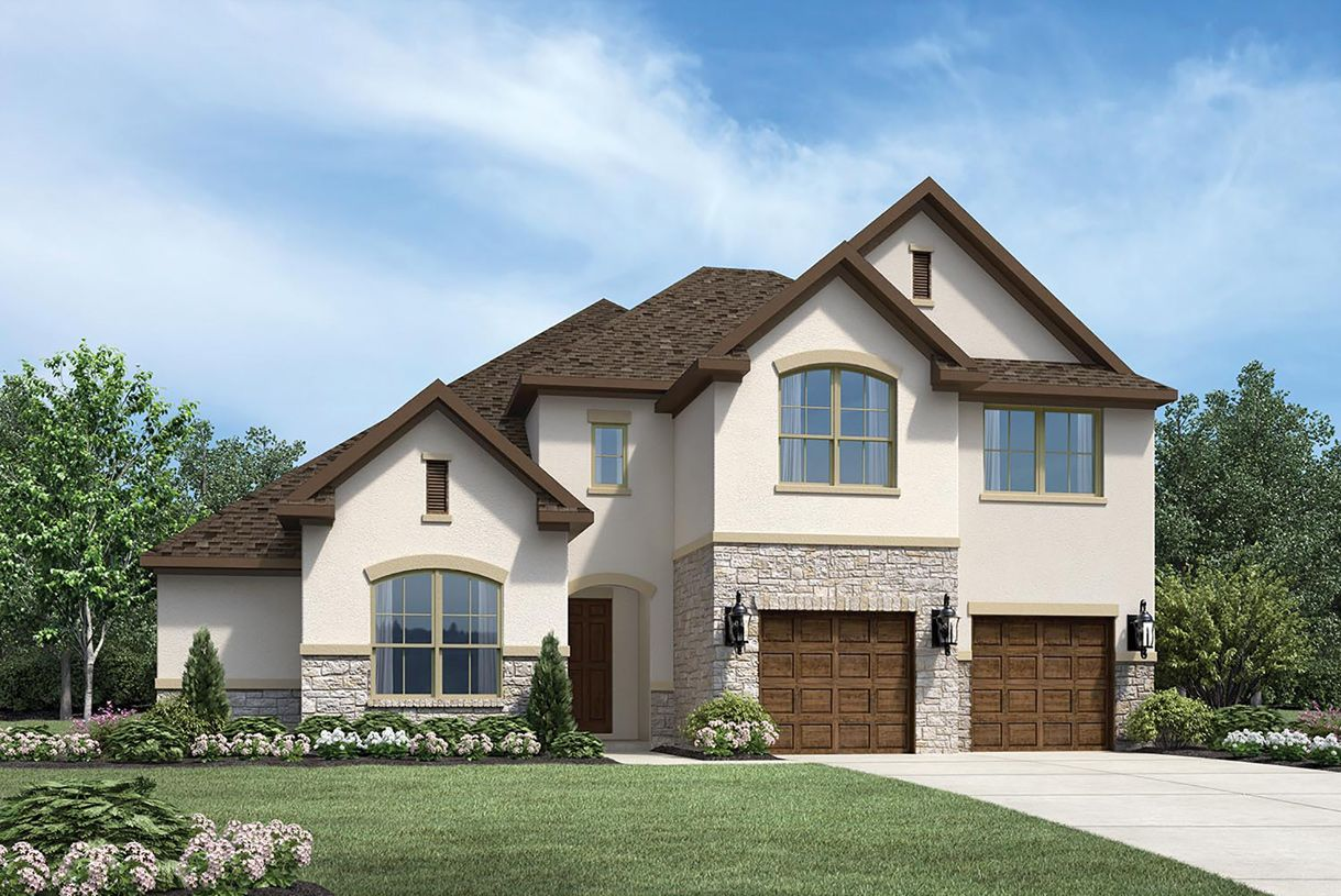 Exterior featured in the Langdon By Toll Brothers in Dallas, TX