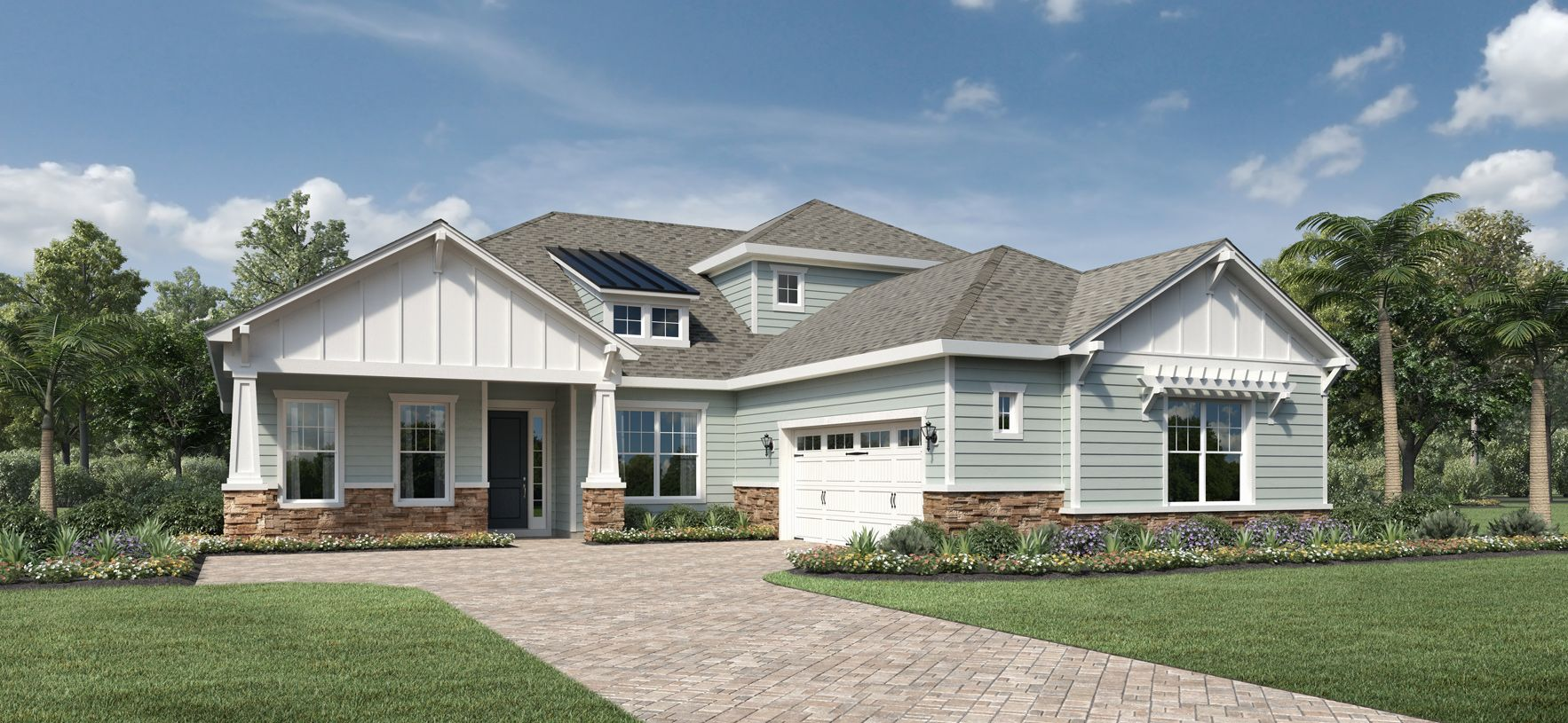 Exterior featured in the Roseberry Elite By Toll Brothers in Jacksonville-St. Augustine, FL