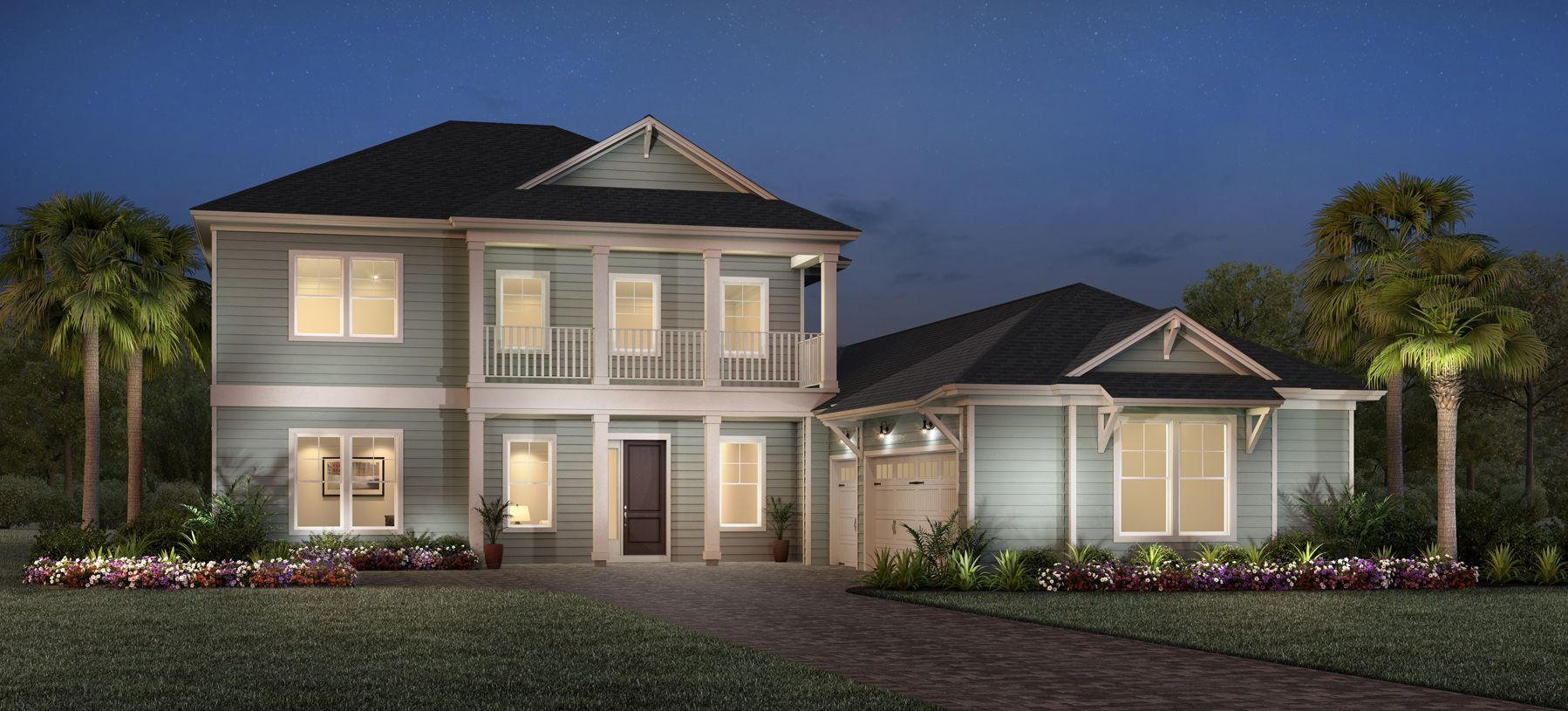 Exterior featured in the Edison By Toll Brothers in Jacksonville-St. Augustine, FL
