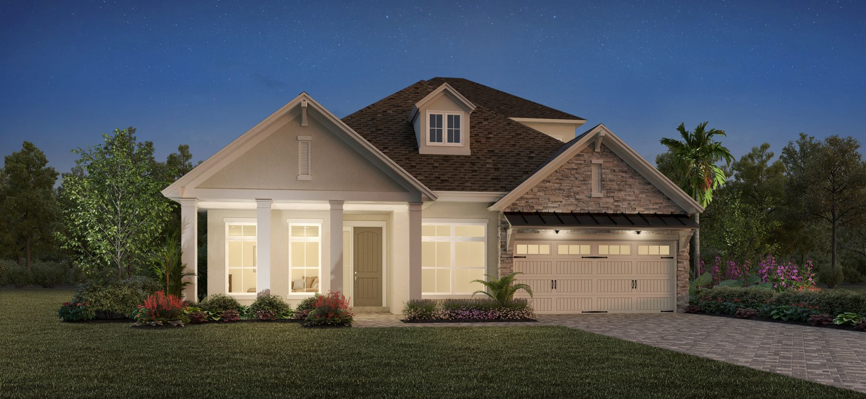 Exterior featured in the Luke Elite By Toll Brothers in Jacksonville-St. Augustine, FL