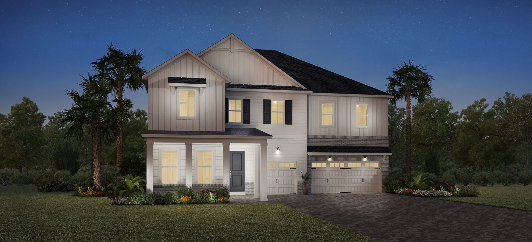 Exterior featured in the Spencer By Toll Brothers in Jacksonville-St. Augustine, FL