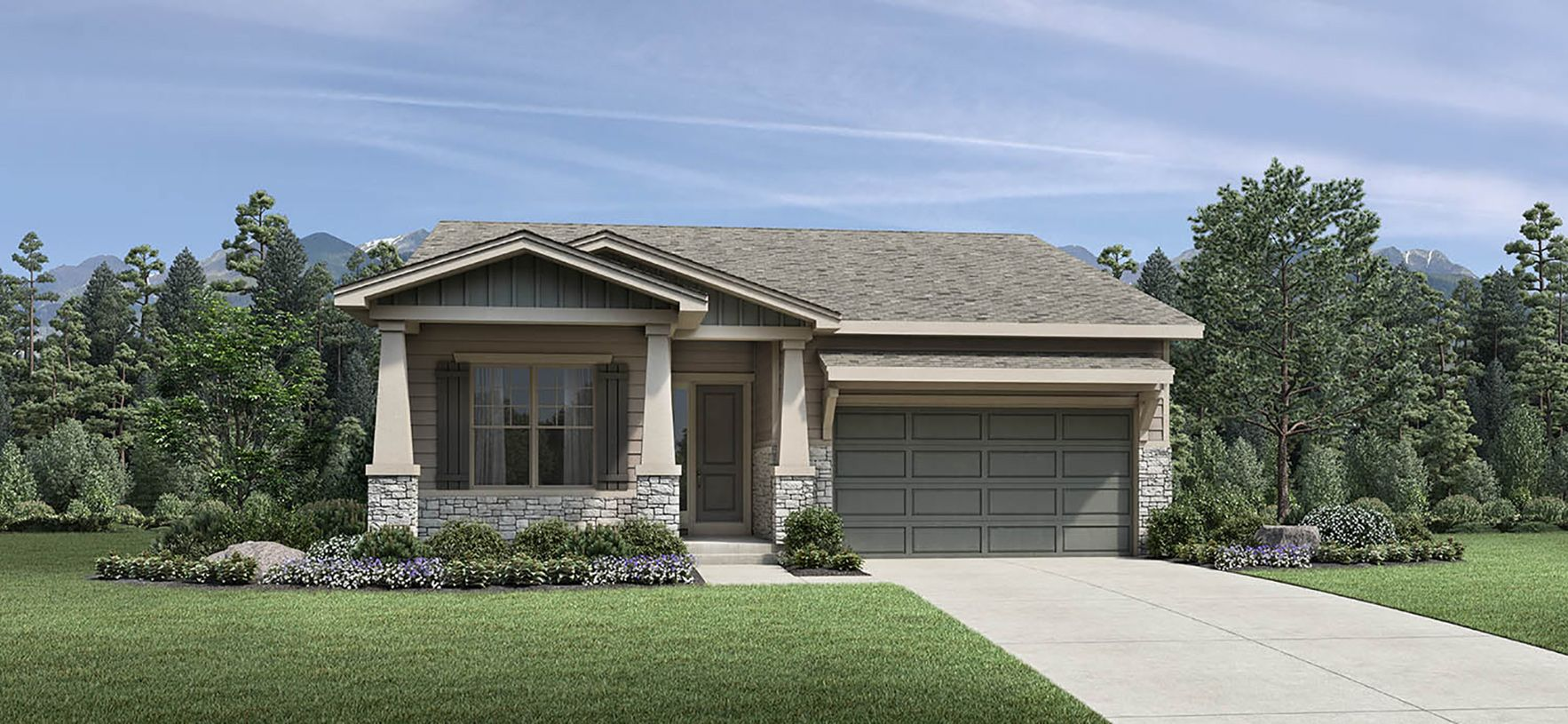 Exterior featured in the Whitley By Toll Brothers in Fort Collins-Loveland, CO