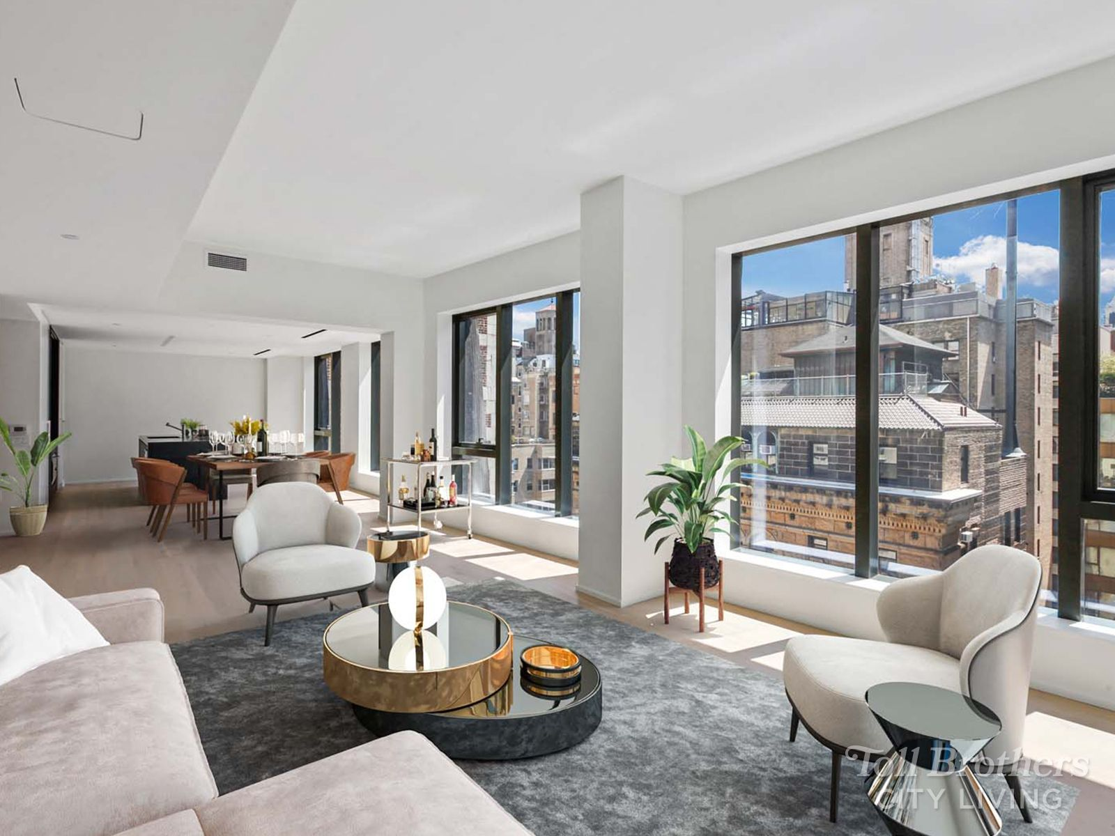 Living Area featured in the S1101 By Toll Brothers in New York, NY