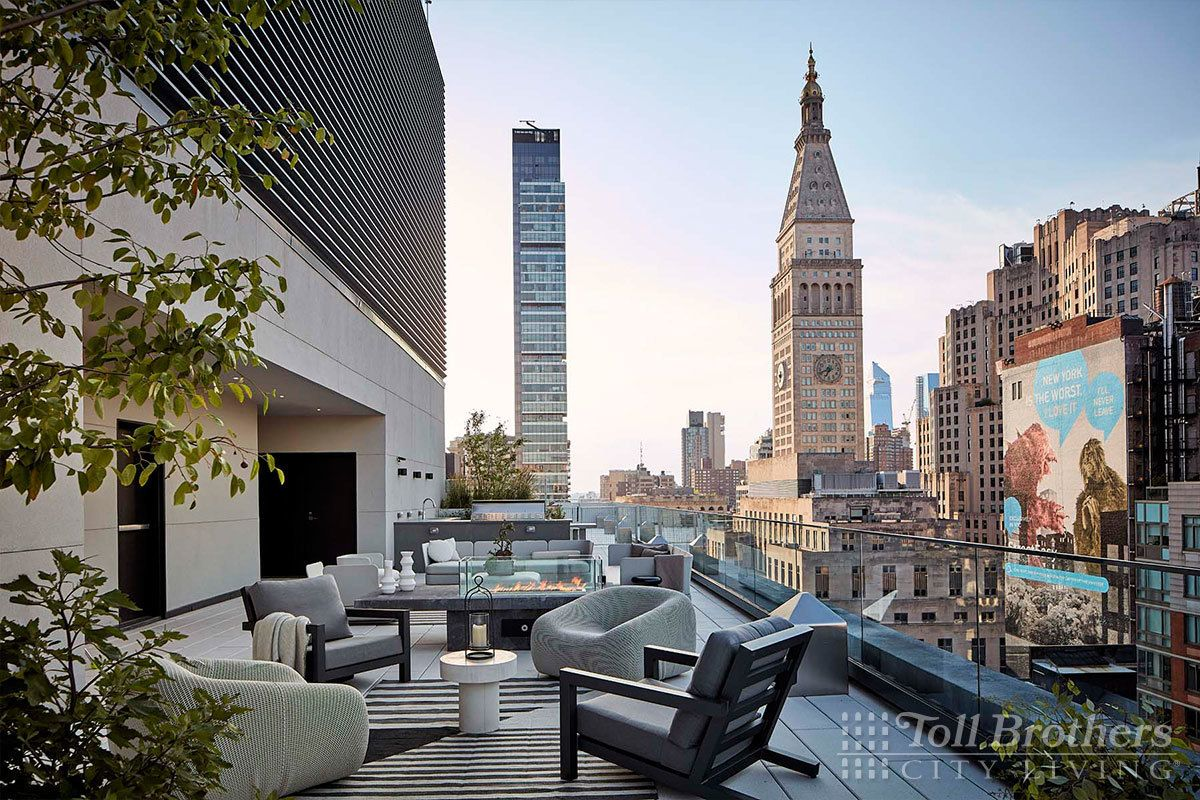 Exterior featured in the S1101 By Toll Brothers in New York, NY