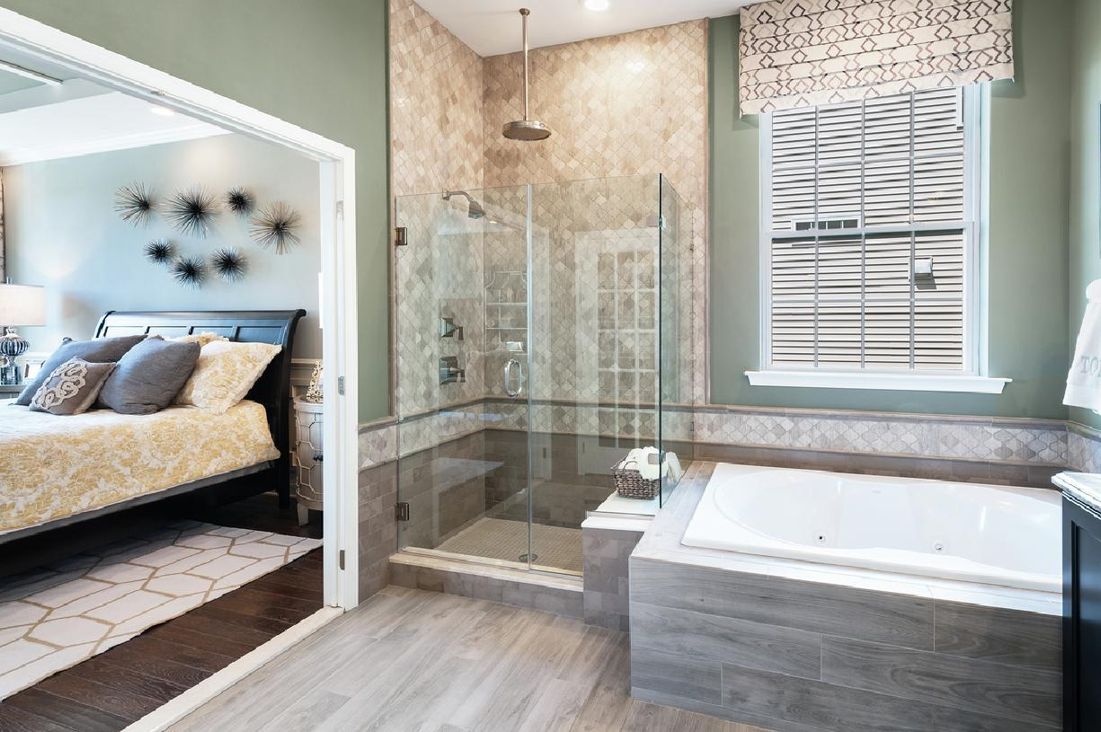 Bathroom featured in the Fairhaven By Toll Brothers in Boston, MA