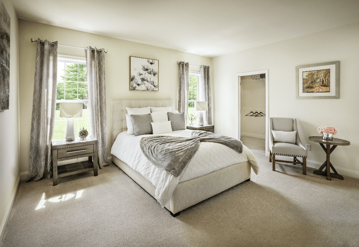 Bedroom featured in the Irvine By Toll Brothers in Danbury, CT