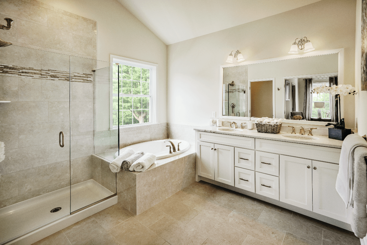 Bathroom featured in the Irvine By Toll Brothers in Danbury, CT