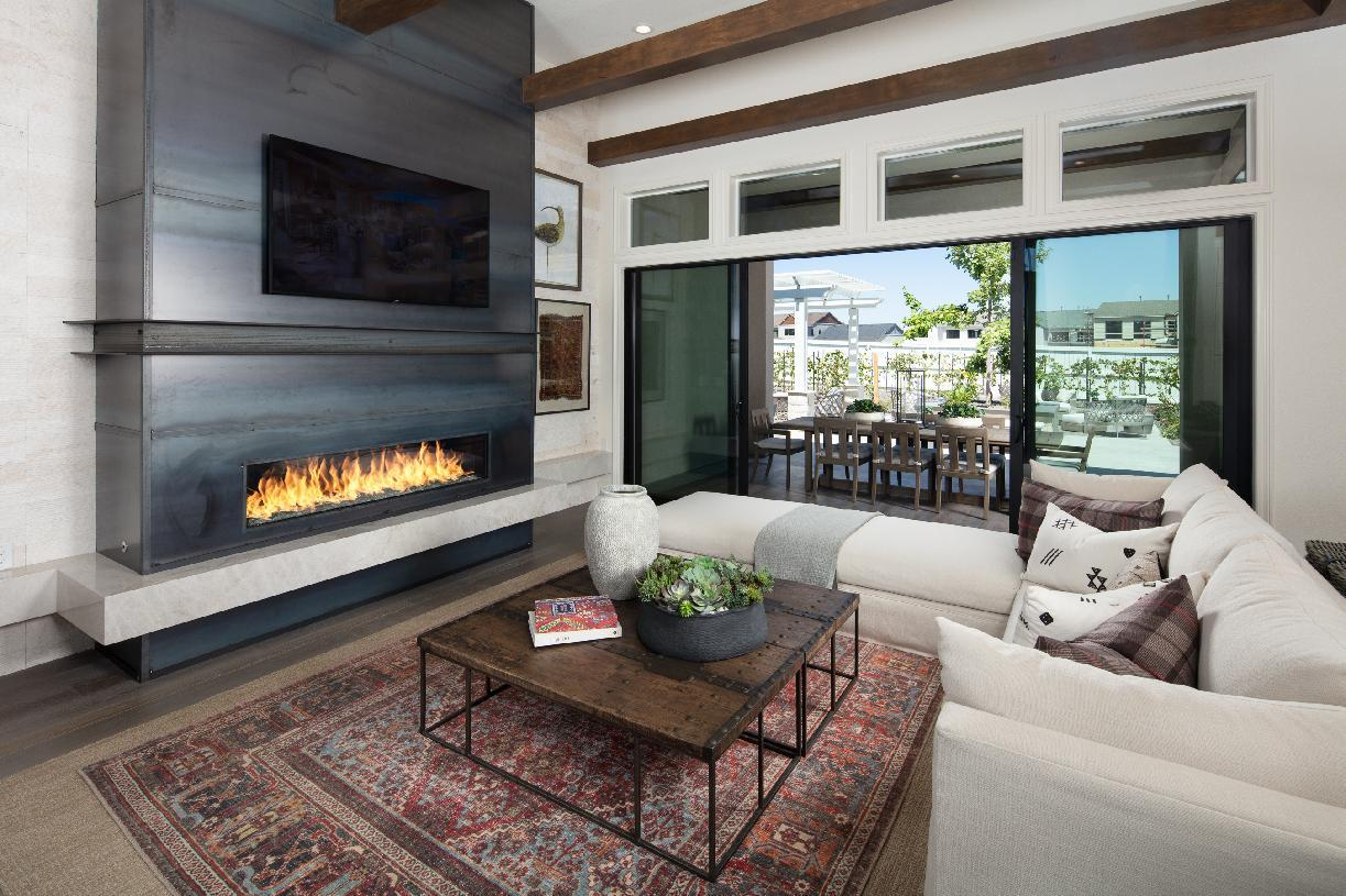 Living Area featured in the Allure By Toll Brothers in Reno, NV