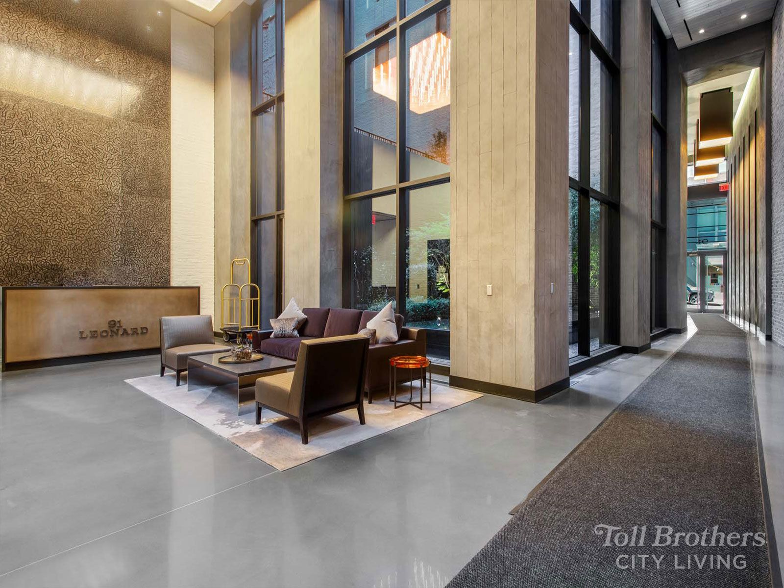 Exterior featured in the 12C By Toll Brothers in New York, NY