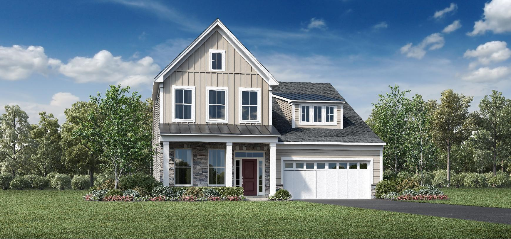 Exterior featured in the Bloomingdale By Toll Brothers in Monmouth County, NJ