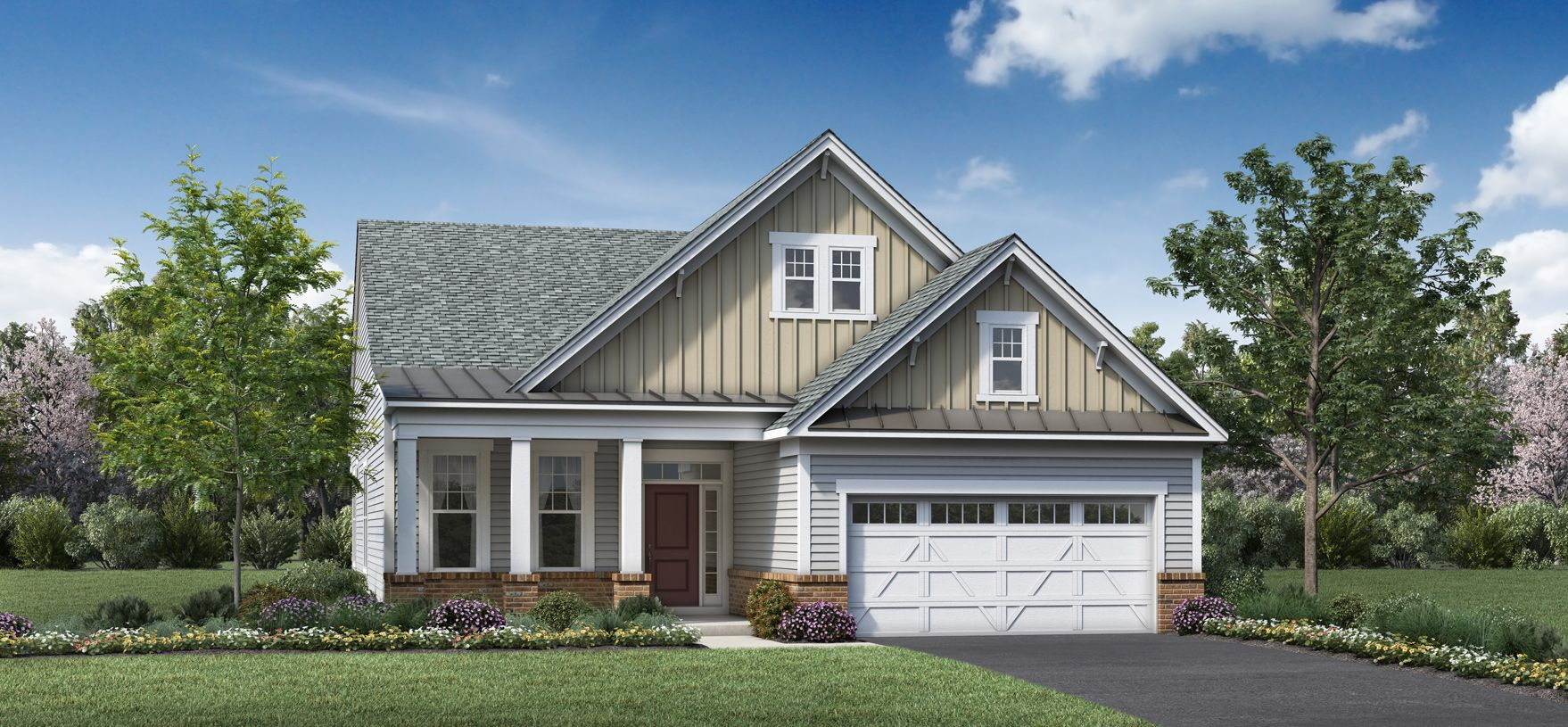 Exterior featured in the Bluebell By Toll Brothers in Monmouth County, NJ