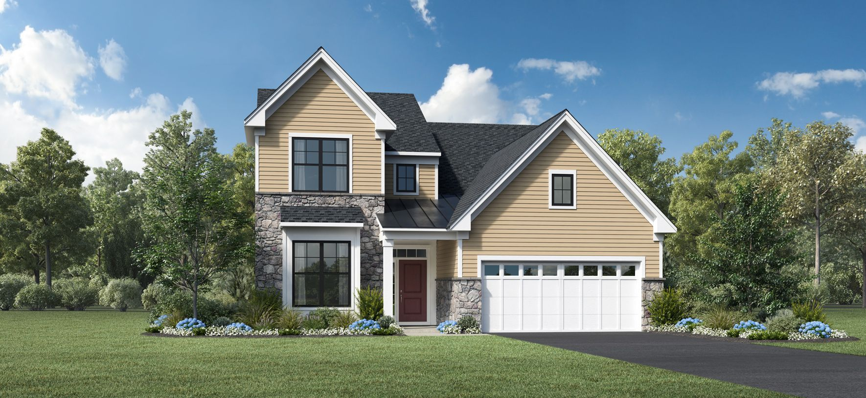 Exterior featured in the Hazel By Toll Brothers in Monmouth County, NJ
