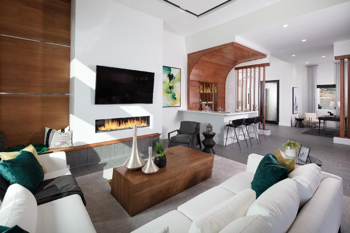 Living Area featured in the Halsey By Toll Brothers in Reno, NV