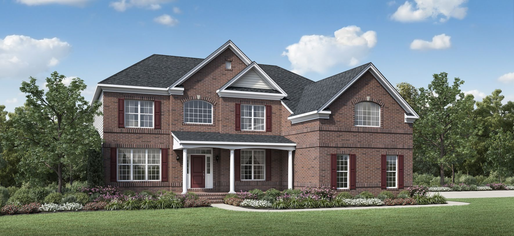 Exterior featured in the Duke By Toll Brothers in Detroit, MI
