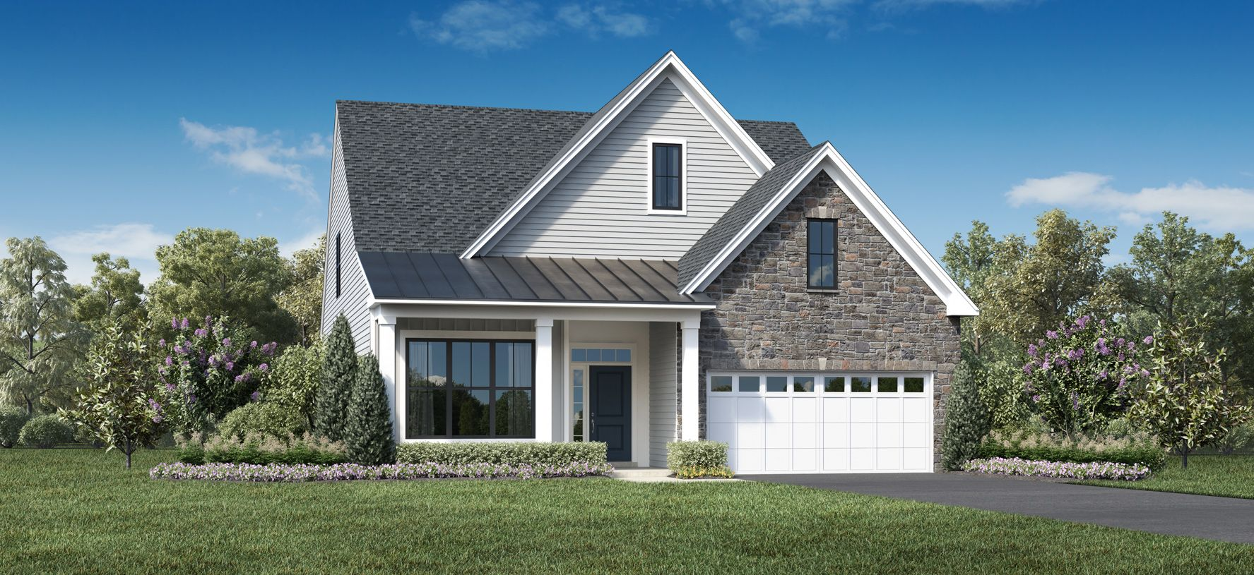 Exterior featured in the Livingston By Toll Brothers in Monmouth County, NJ