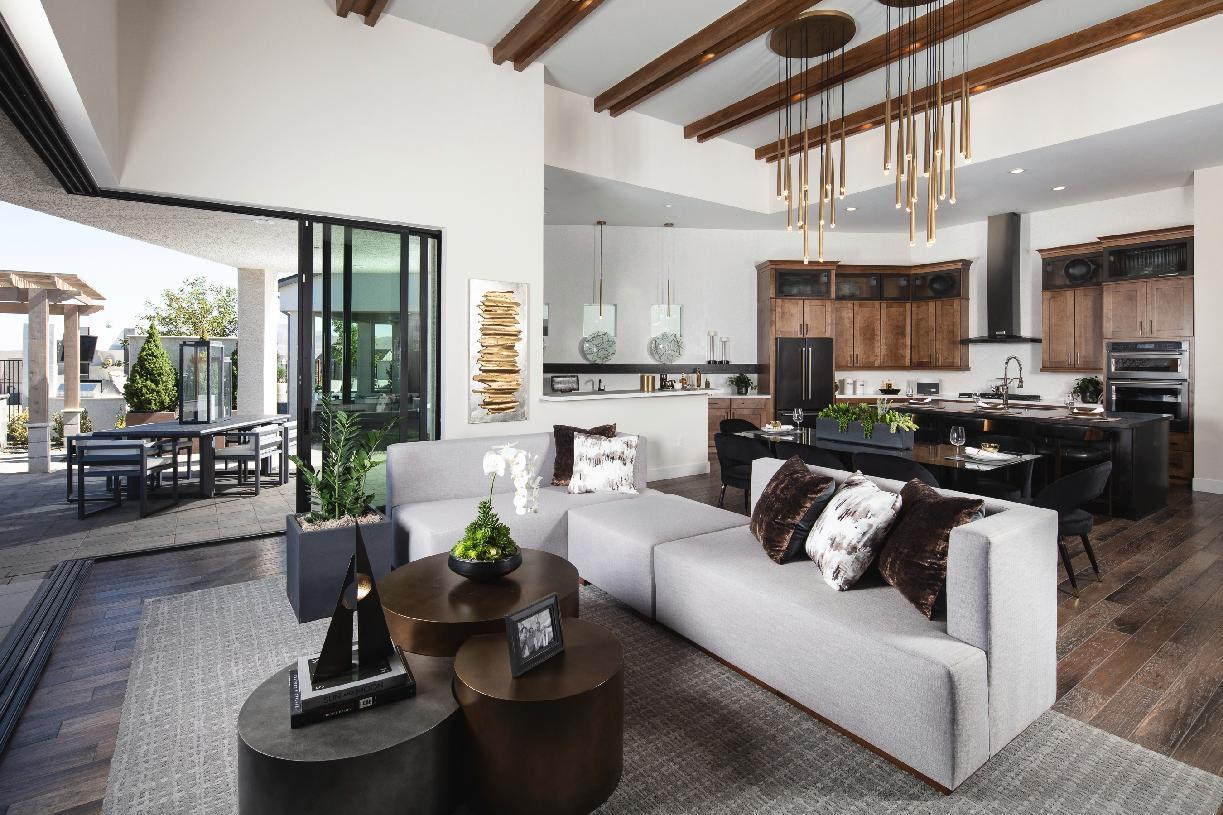 Living Area featured in the Austin By Toll Brothers in Reno, NV