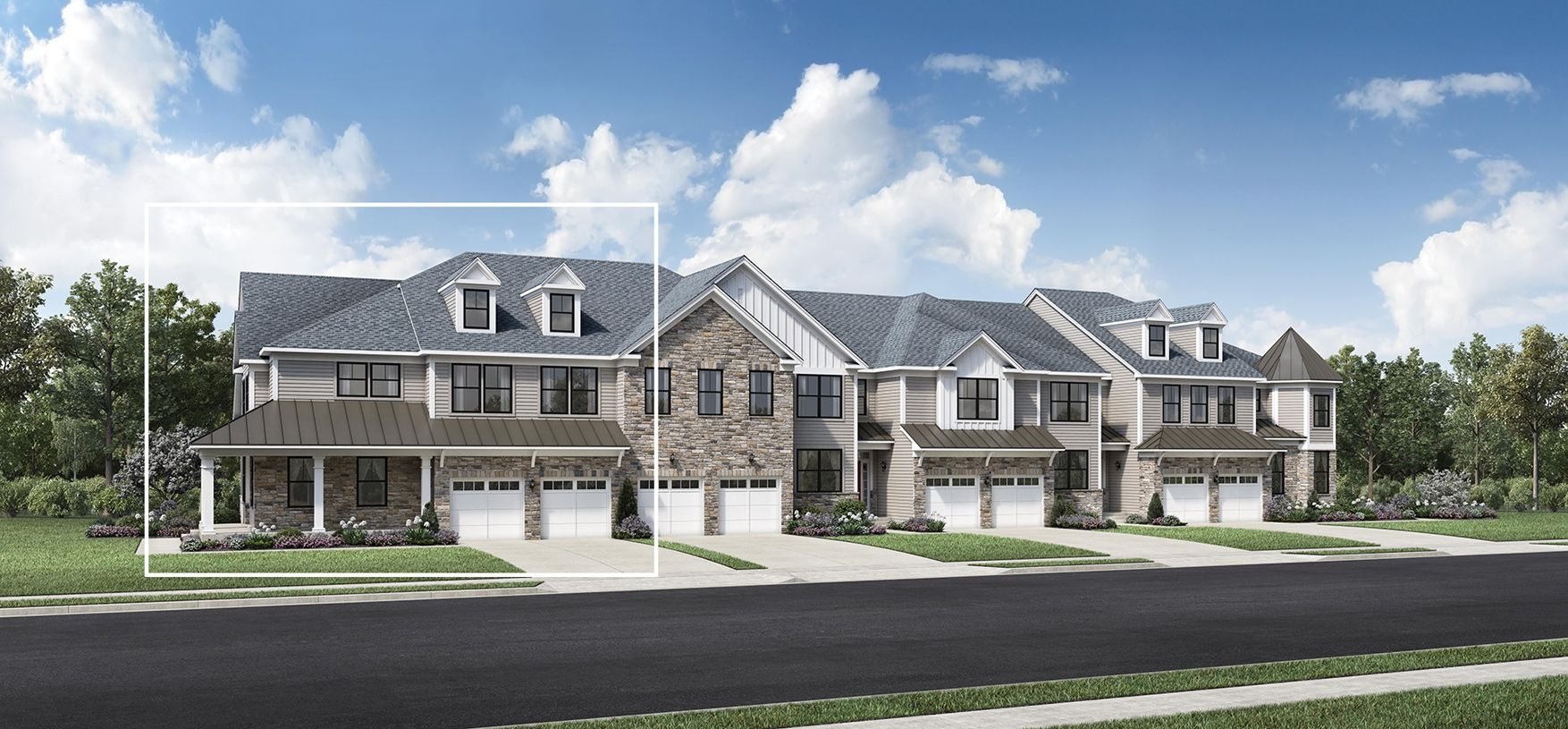 Exterior featured in the Bexley Grand By Toll Brothers in Somerset County, NJ