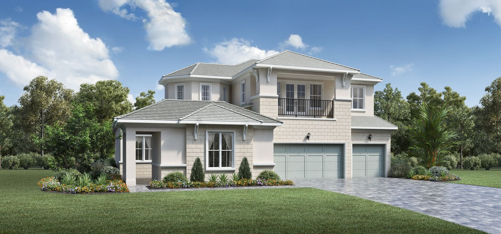 Exterior featured in the Clearwater By Toll Brothers in Palm Beach County, FL