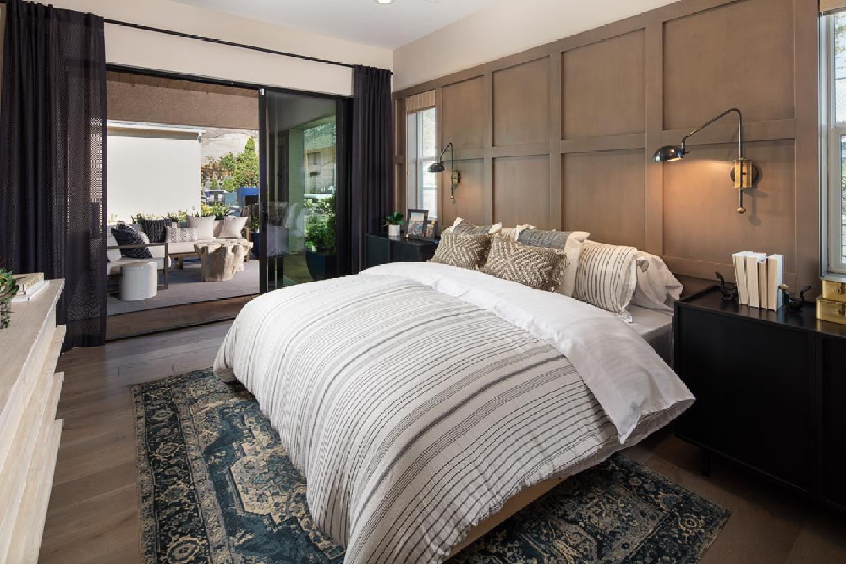 Bedroom featured in the Cambria By Toll Brothers in Reno, NV