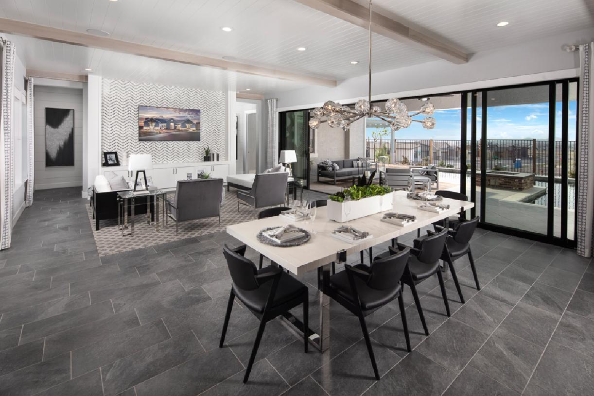 Living Area featured in the Bayberry By Toll Brothers in Reno, NV