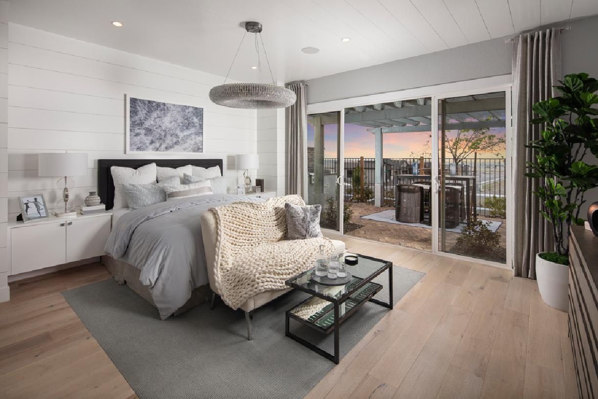 Bedroom featured in the Bayberry By Toll Brothers in Reno, NV