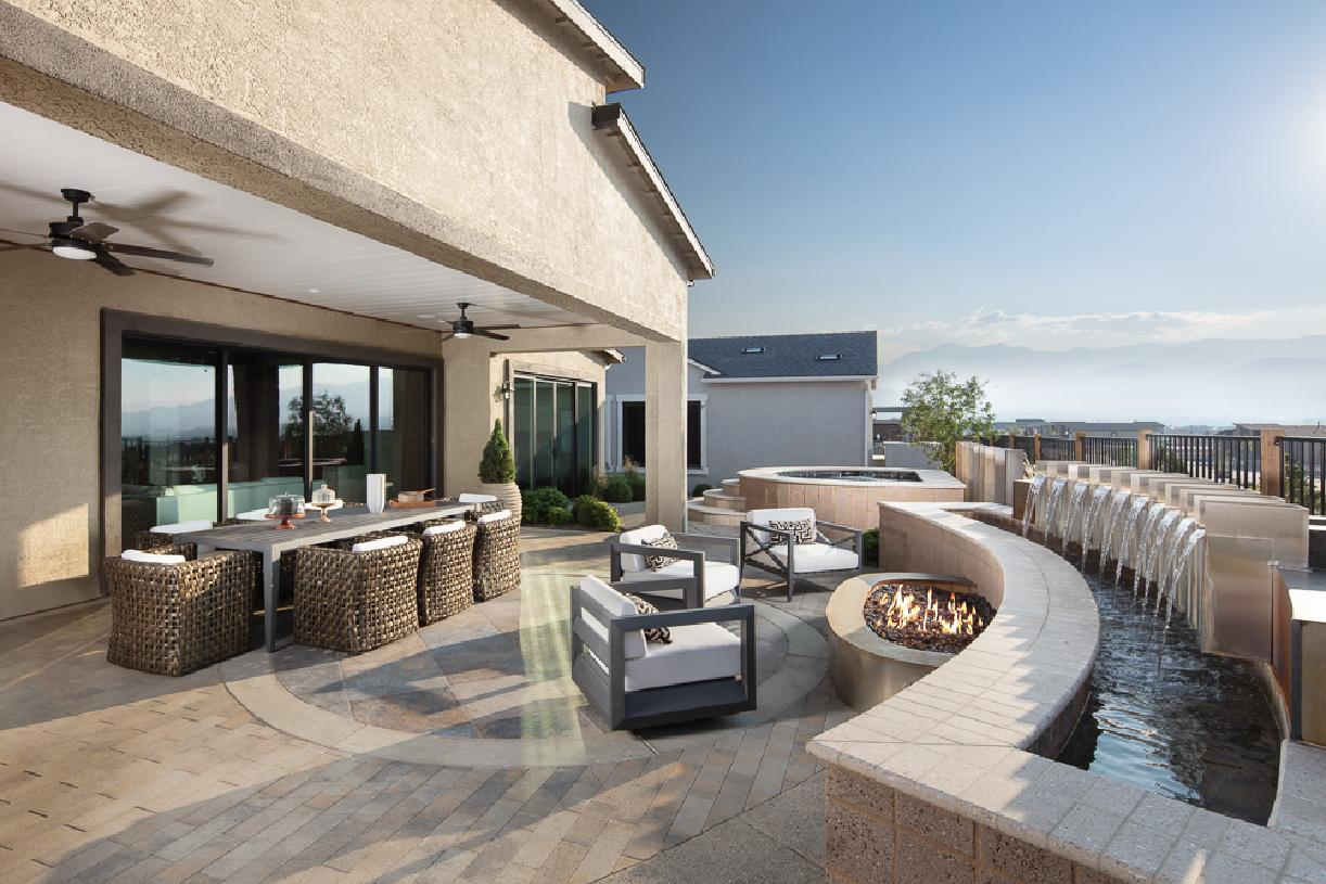 Exterior featured in the Windsong By Toll Brothers in Reno, NV