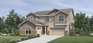 Crawford - North Hill - The Overlook Collection: Thornton, Colorado - Toll Brothers