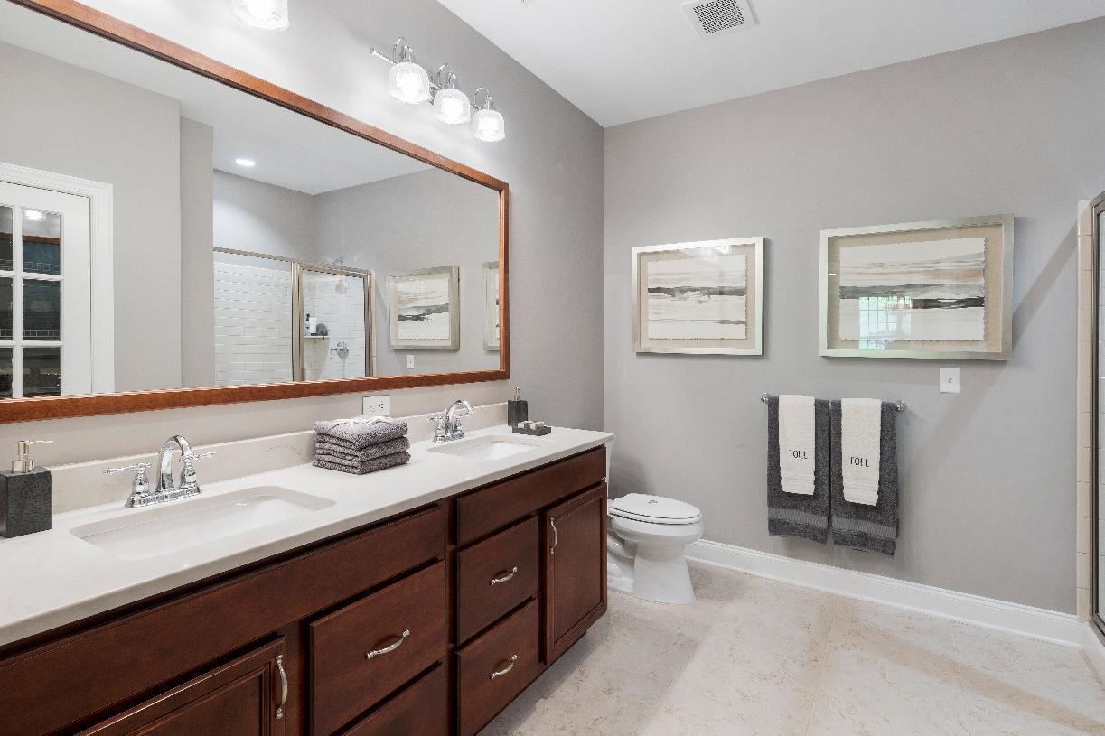 Bathroom featured in the Alton By Toll Brothers in Danbury, CT