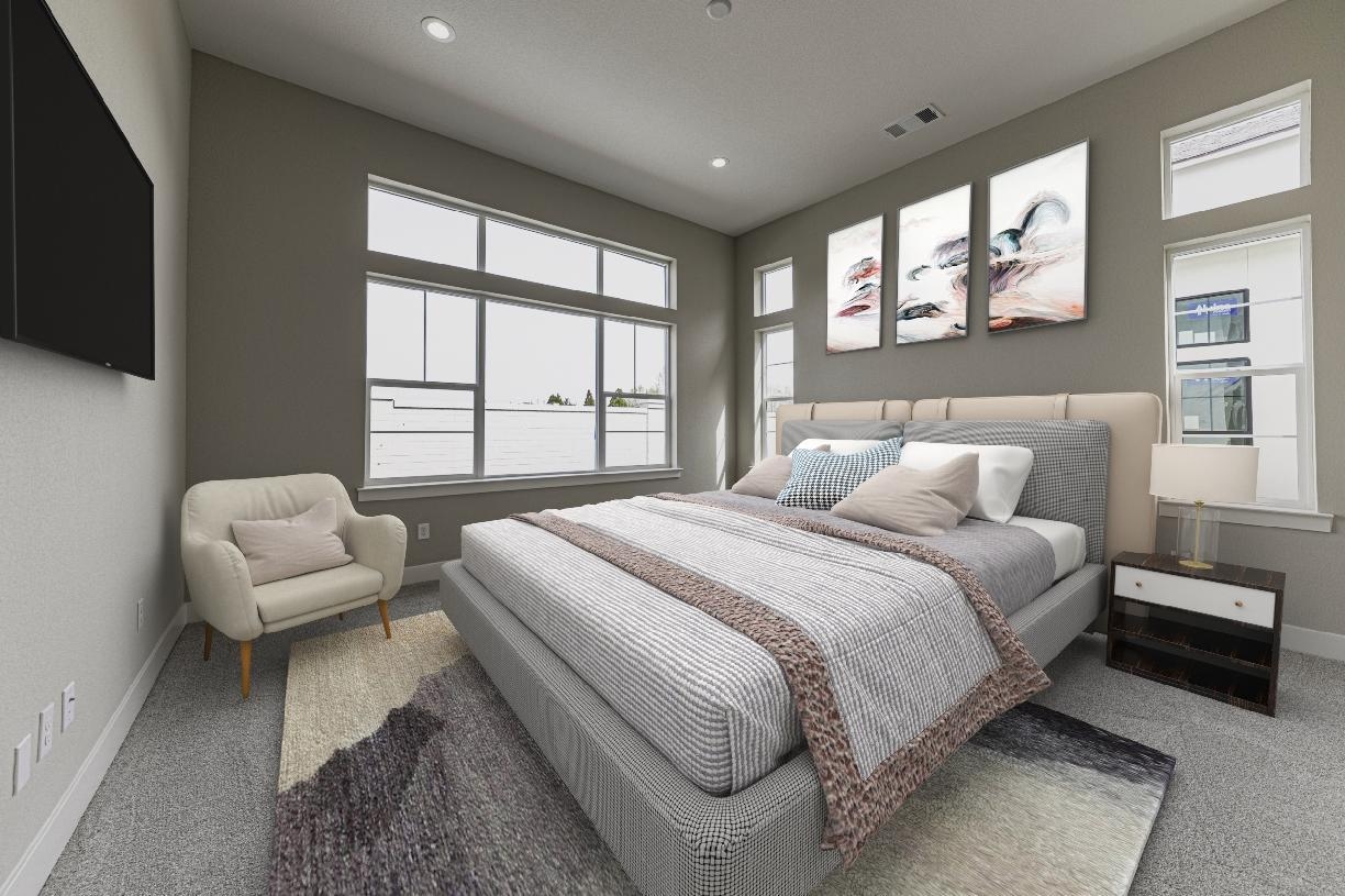 Bedroom featured in the Allure Elite By Toll Brothers in Reno, NV