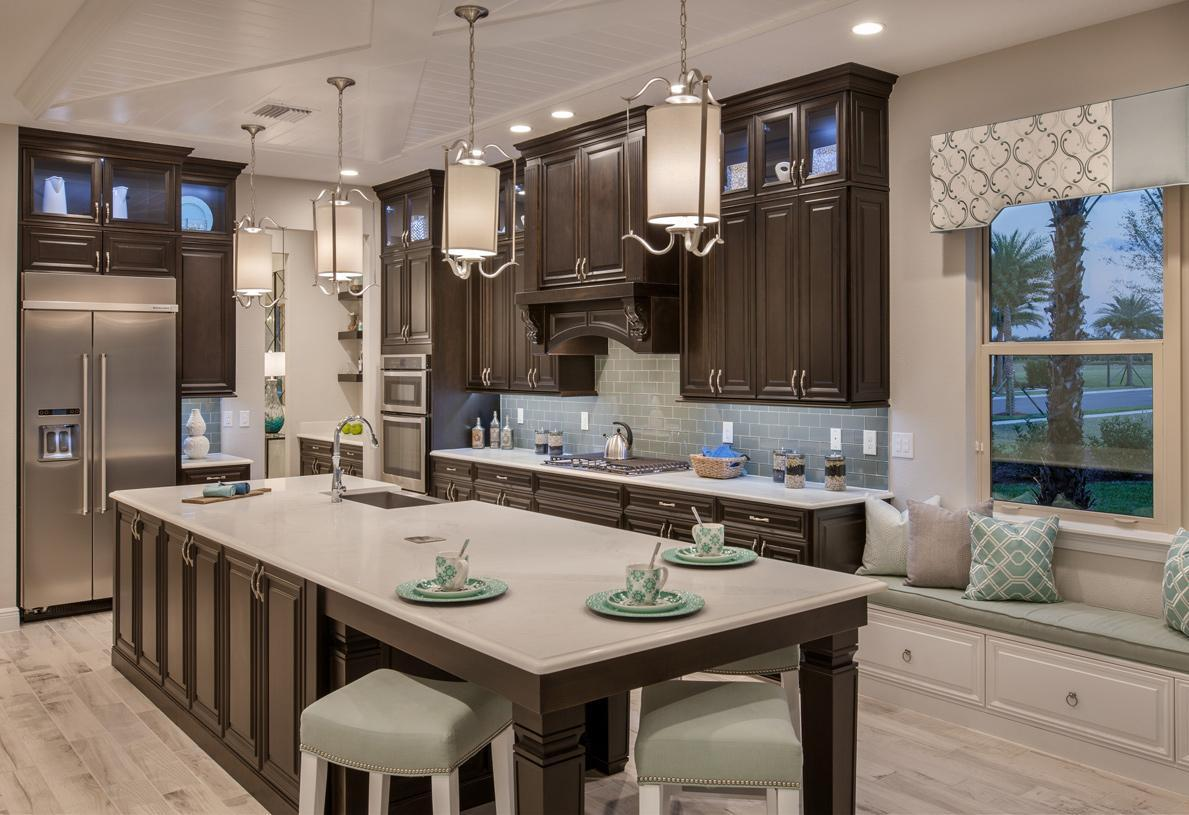 Kitchen featured in the Gardenia By Toll Brothers in Orlando, FL