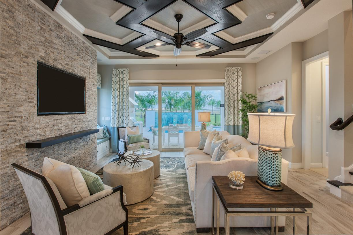 Living Area featured in the Gardenia By Toll Brothers in Orlando, FL