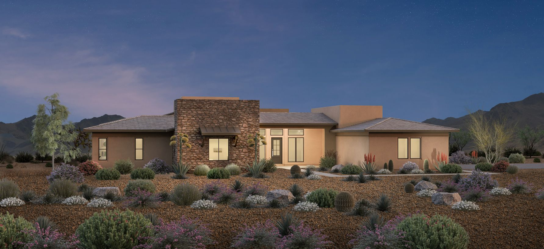 Exterior featured in the Eames By Toll Brothers in Phoenix-Mesa, AZ