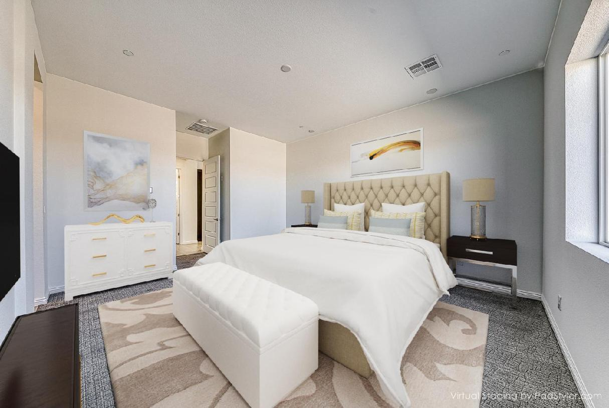 Bedroom featured in the Pineridge By Toll Brothers in Las Vegas, NV