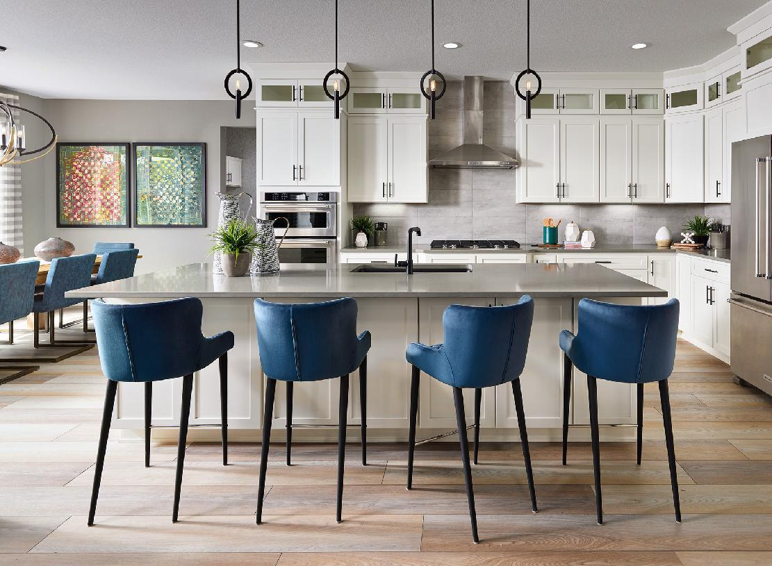 Kitchen featured in the Lathrop By Toll Brothers in Denver, CO