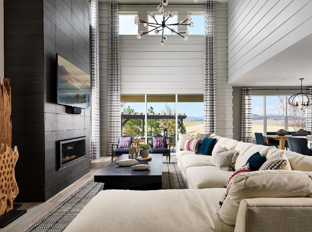 Living Area featured in the Lathrop By Toll Brothers in Fort Collins-Loveland, CO