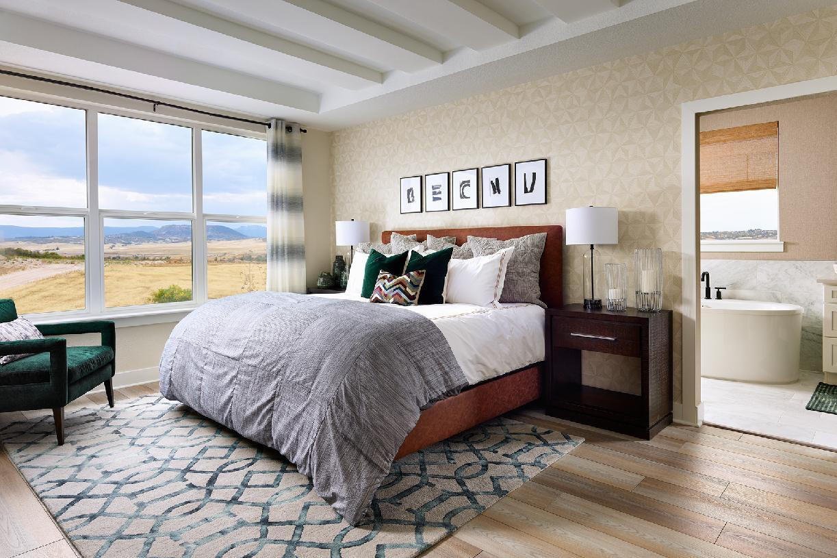Bedroom featured in the Lathrop By Toll Brothers in Denver, CO