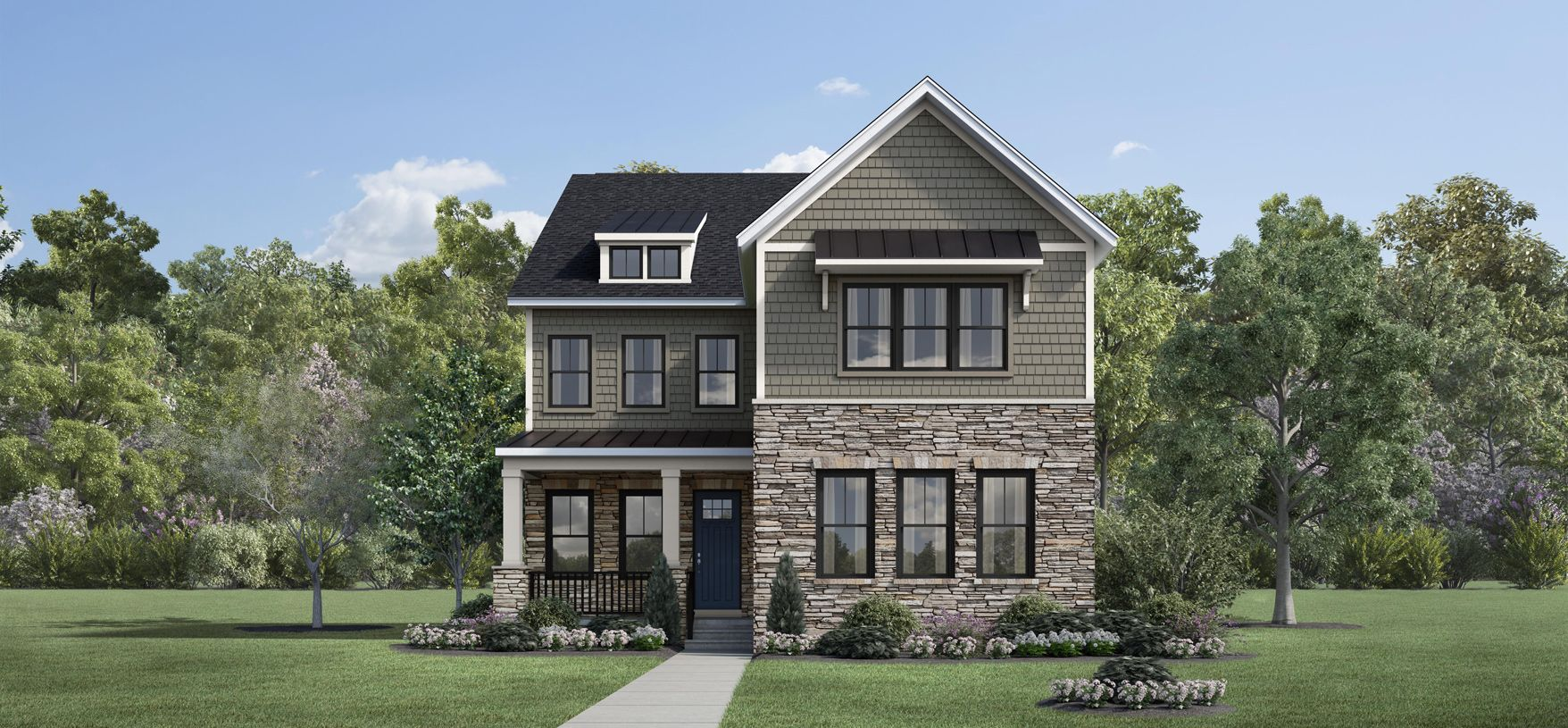 Exterior featured in the Potowmack By Toll Brothers in Washington, MD