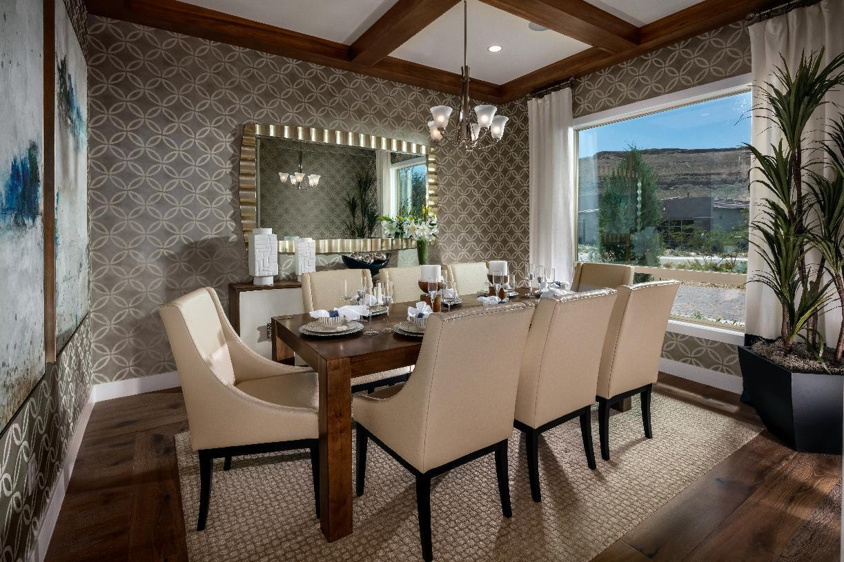 Living Area featured in the Clay Hill By Toll Brothers in Las Vegas, NV