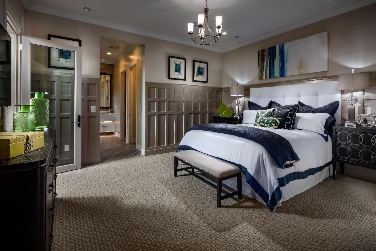 Bedroom featured in the Clay Hill By Toll Brothers in Las Vegas, NV