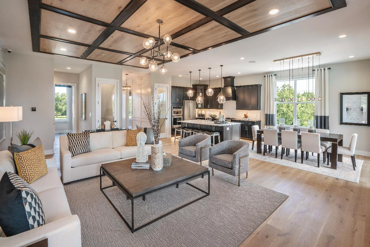Living Area featured in the Odessa By Toll Brothers in Philadelphia, PA