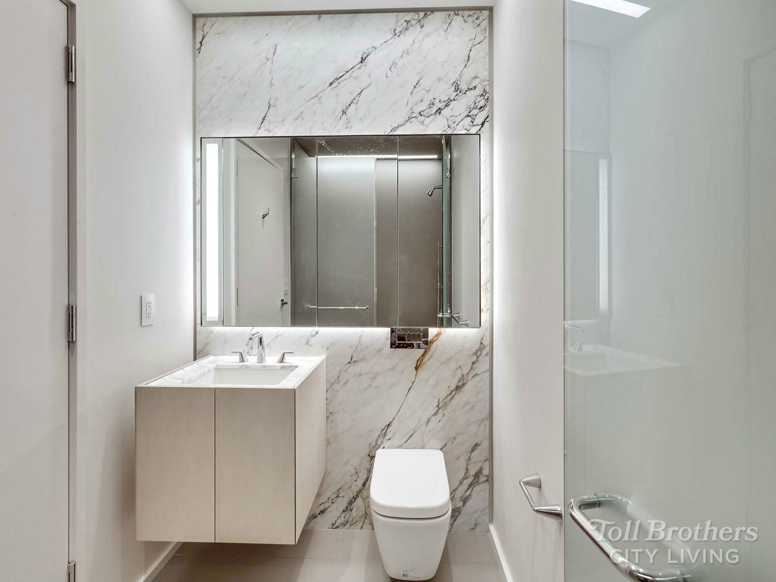 Bathroom featured in the N1004 By Toll Brothers in New York, NY